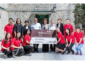 Wynn donates MOP300,000 to support Macau Holy House of Mercy's Welfare Shop Project