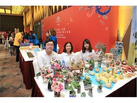 Wynn joins hands with the Richmond Fellowship of Macau to sell handmade crafts for a good cause