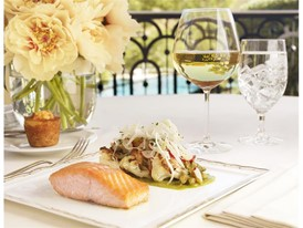 Tableau-Pan Seared Organic Scottish Salmon-Barbara Kraft