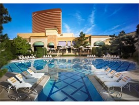 Wynn Resort Pool REVERSE ANGLE-Barbara Kraft