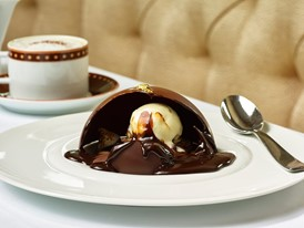 SW Steakhouse - Chocolate Rocky Road Sphere