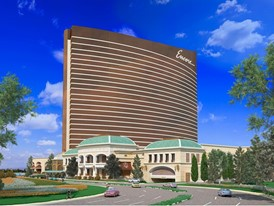 Encore Boston Harbor East View