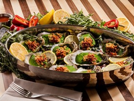 The Buffet - Oysters Rockefeller