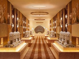 The Spa at Wynn Palace Corridor by Roger Davies