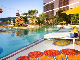 Wynn Palace Pool by Barbara Kraft