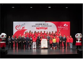 Wynn Employee (WE) Volunteer Team Celebrates 'International Volunteer Day' with Social Service Organizations in Macau