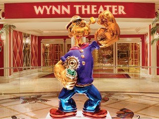 Wynn Las Vegas Welcomes Popeye by Renowned Artist Jeff Koons