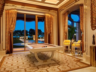 Wynn Palace Garden Villa Billiard Room Roger Daives