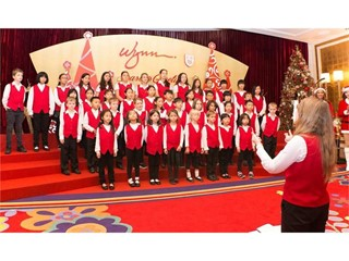 Wynn Celebrates the Season of Giving with Festive Carols