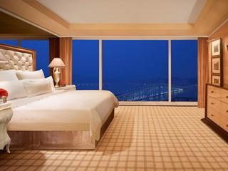 Wynn One-bedroom Suite - Bedroom  by Barbara Kraft