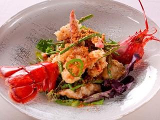 Andrea's - Five Spice Garlic Lobster