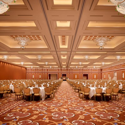 Wynn South Conventions- Cristal Ballroom Rounds