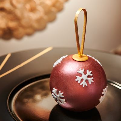 Christmas Ornament – Clementine, Chocolate, Gingerbread Ice Cream