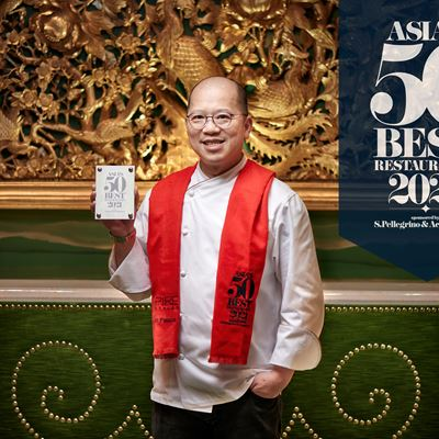 Wing Lei Palace Becomes the Only Restaurant in Macau to Rank on the Asia's 50 Best Restaurants List