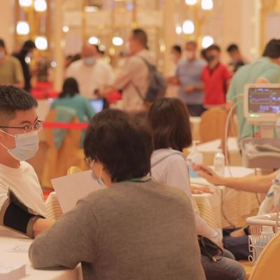 More than 1,700 people got vaccinated at Wynn