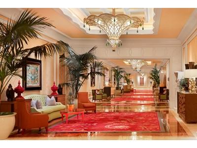 Encore Convention Hallway
