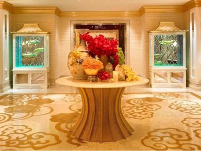 Wynn Macau -  Wynn Club Lobby  by Barbara Kraft