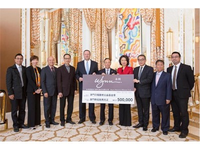 Wynn Fully Supports Walk for a Million organized by The Charity Fund from the Readers of Macao Daily News