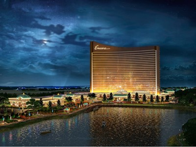 Encore Boston Harbor Night