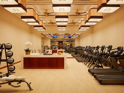 Fitness Center by Roger Davies
