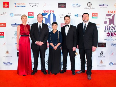 Asia's 50 Best Restaurants Awards 2018 Marks a Successful Finish at Wynn Macau and Wynn Palace Cotai