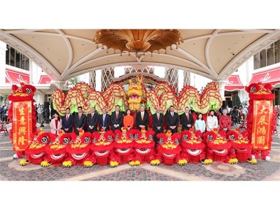 Wynn Welcomes the Auspicious Year of the Golden Pig with Vibrant Celebrations