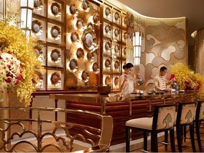 Sichuan Moon Tea Lounge by Barbara Kraft