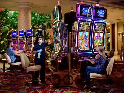 Wynn Las Vegas Reopening - Casino