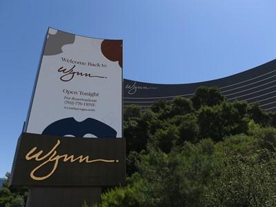 Wynn Las Vegas Reopening - Marquee