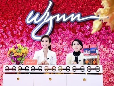 Wynn holds Douyin live streaming sessions with popular blogger – Zhang Jie