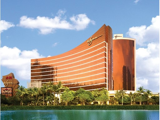 Wynn Macau Exterior by Barbara Kraft