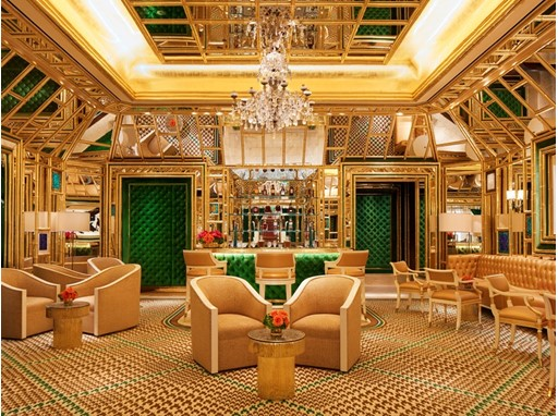 Wynn Palace Wing Lei Bar by Roger Davies