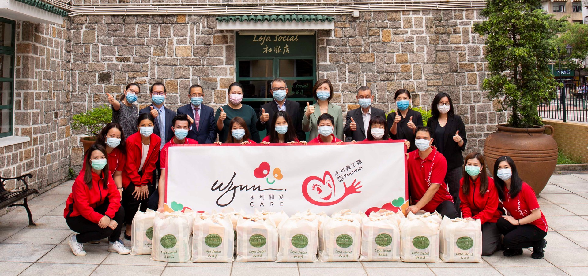 Wynn Supports Macau Holy House of Mercy's Welfare Shop for t