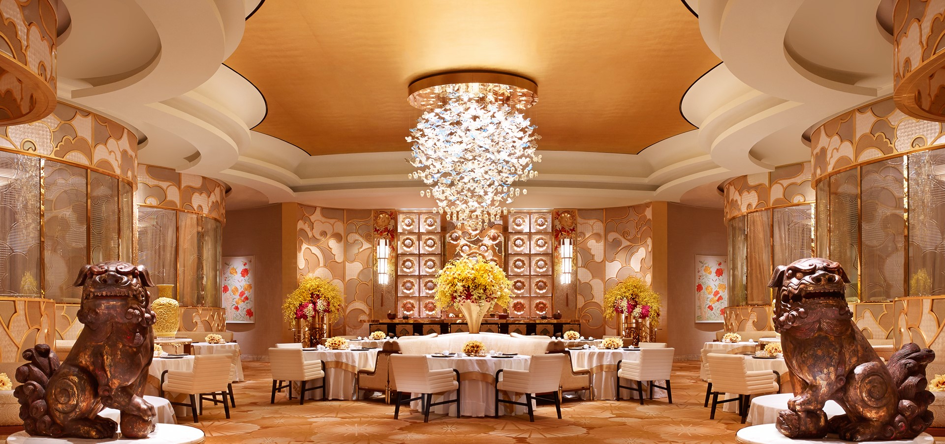 Sichuan Moon and Wing Lei Palace at Wynn Palace Become the..