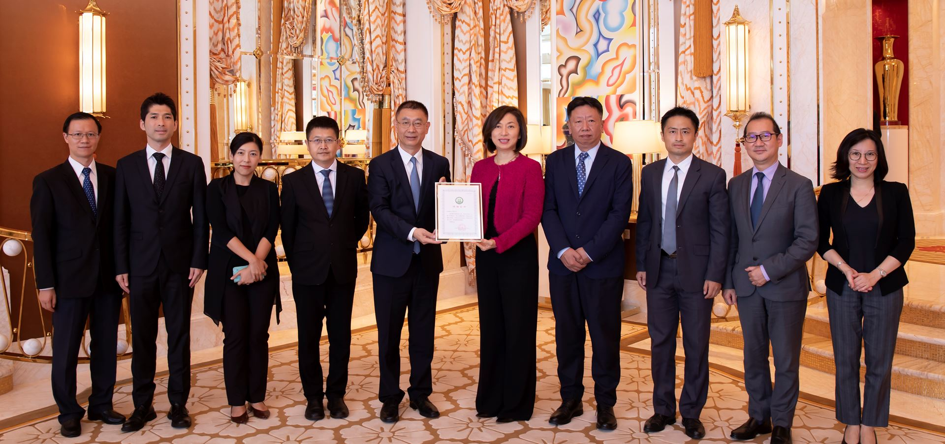 Liaison Office recognizes Wynn for its contributions during