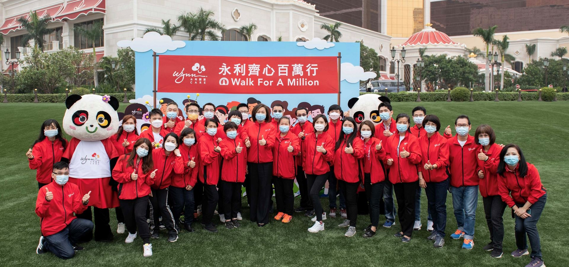 "Wynn Fully Supports ""Walk for a Million"" virtual walk"