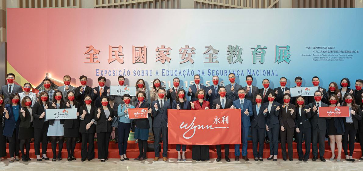 Wynn takes part in National Security Education Exhibition...