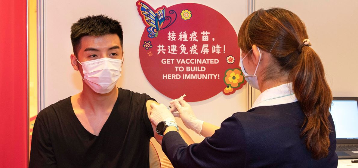 Wynn organizes group vaccination sessions for team members
