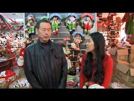 Jinlin Chen, Secretary General of Yiwu Christmas Products Association