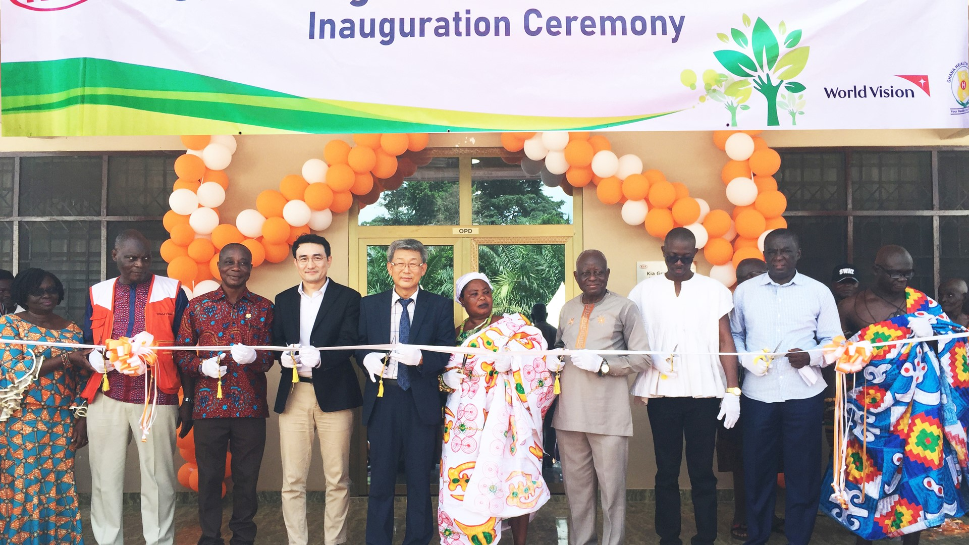 Kia Motors boosts healthcare in Ghana with opening of Green Light center