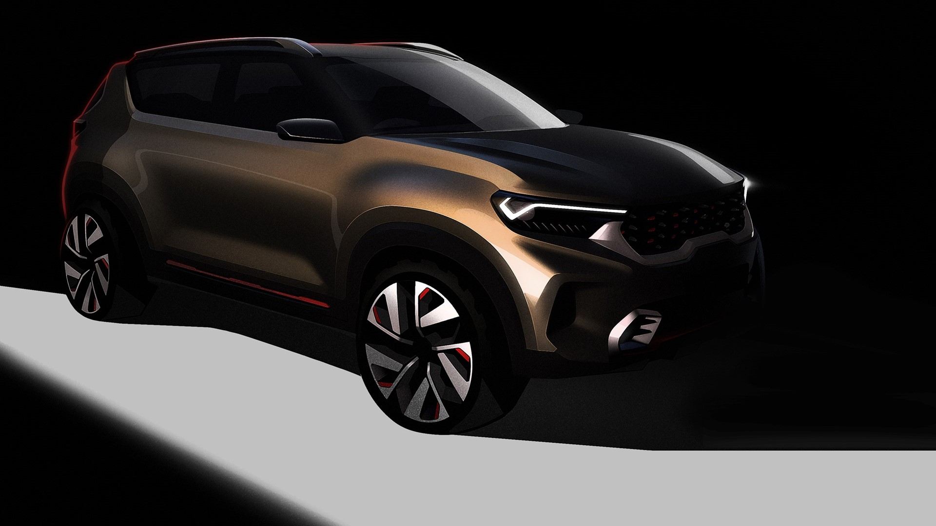 Kia compact SUV concept