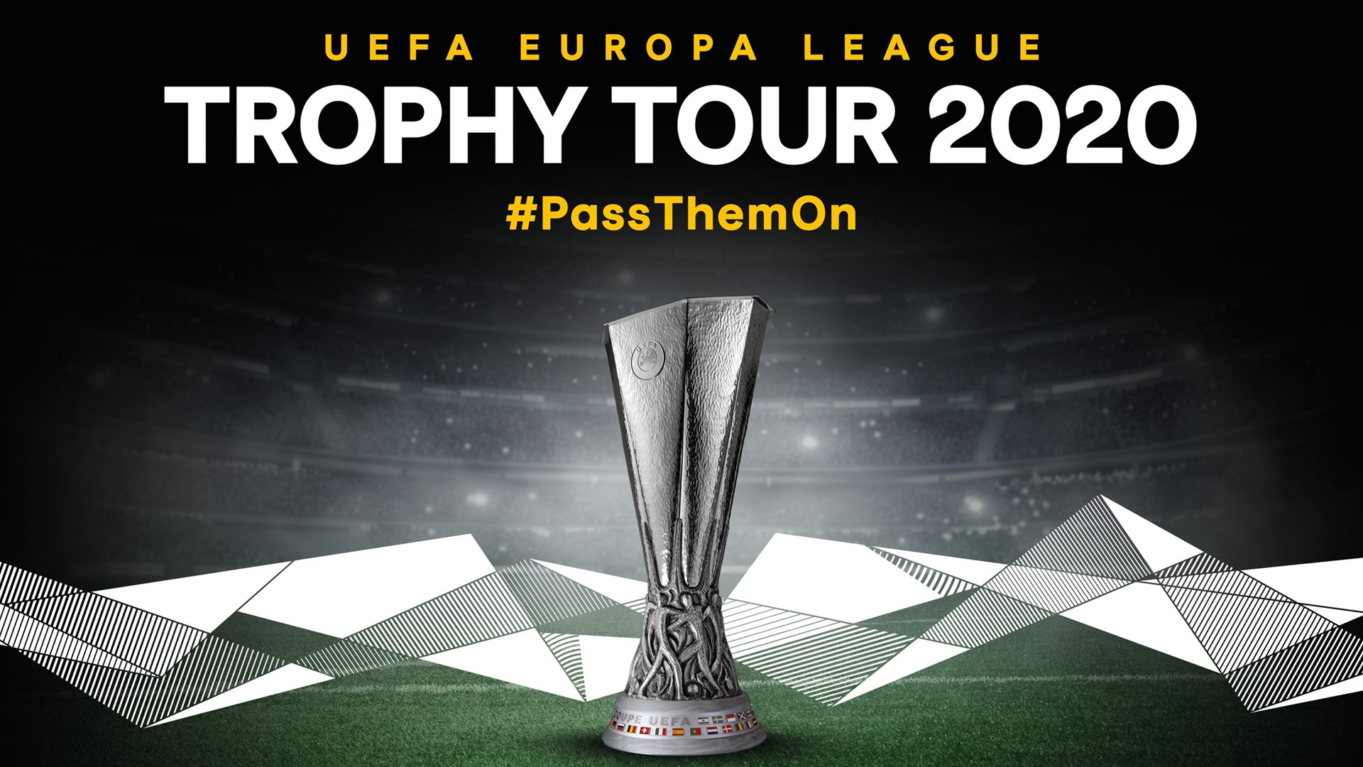 uefa europa league trophy tour driven by kia returns in 2020 uefa europa league trophy tour driven