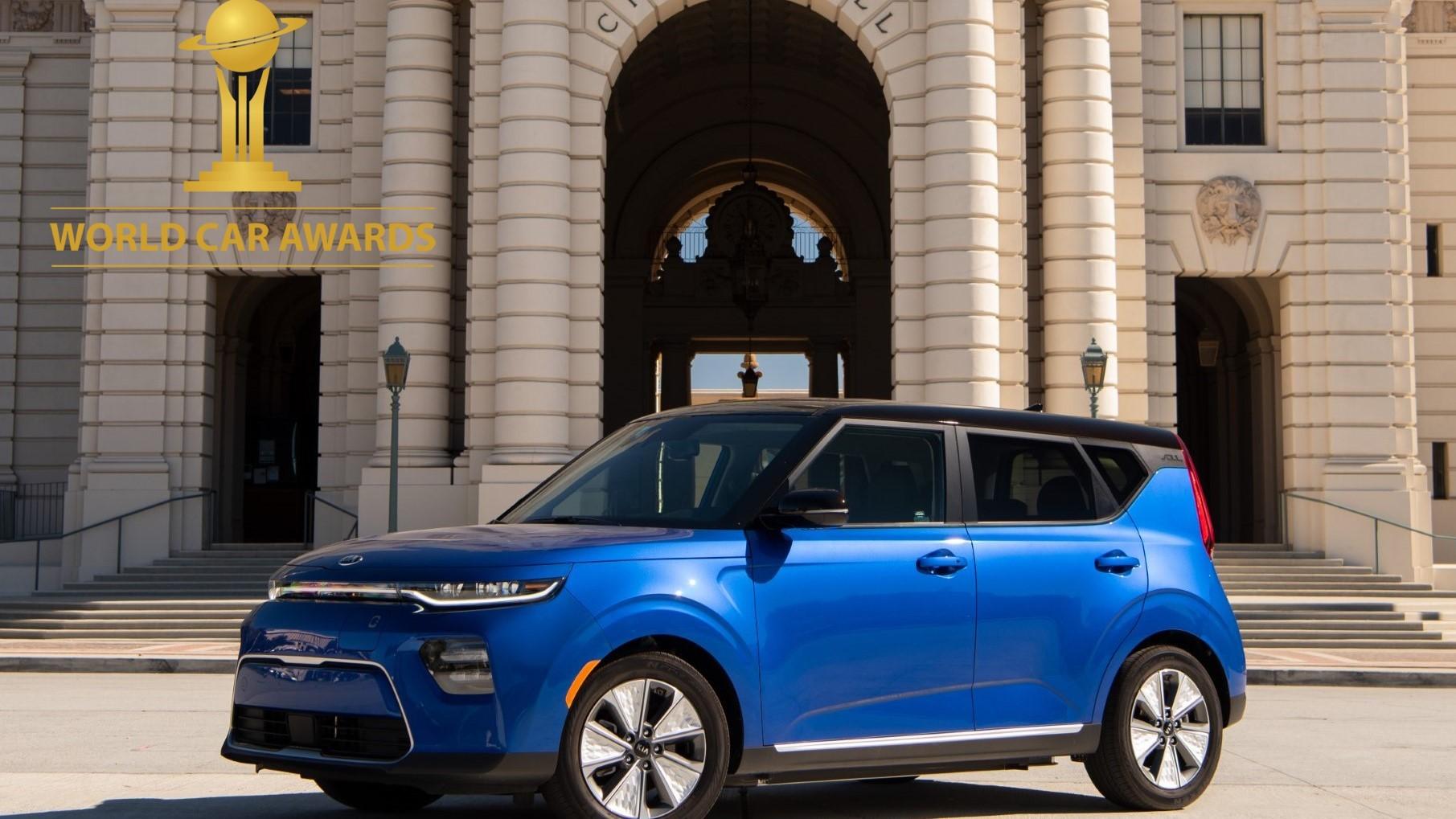 2020 World Car Awards Soul EV
