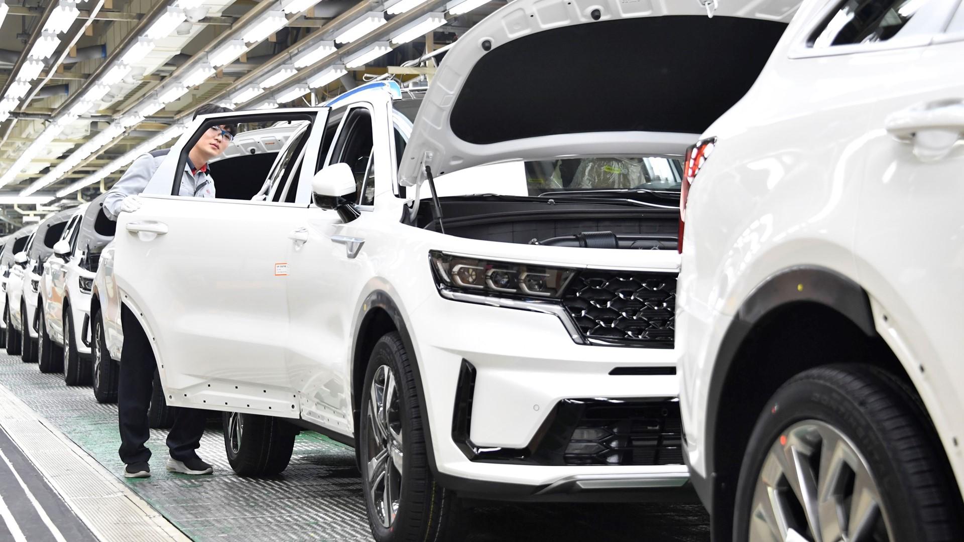 Start of production for new Kia Sorento Hybrid - Image 4