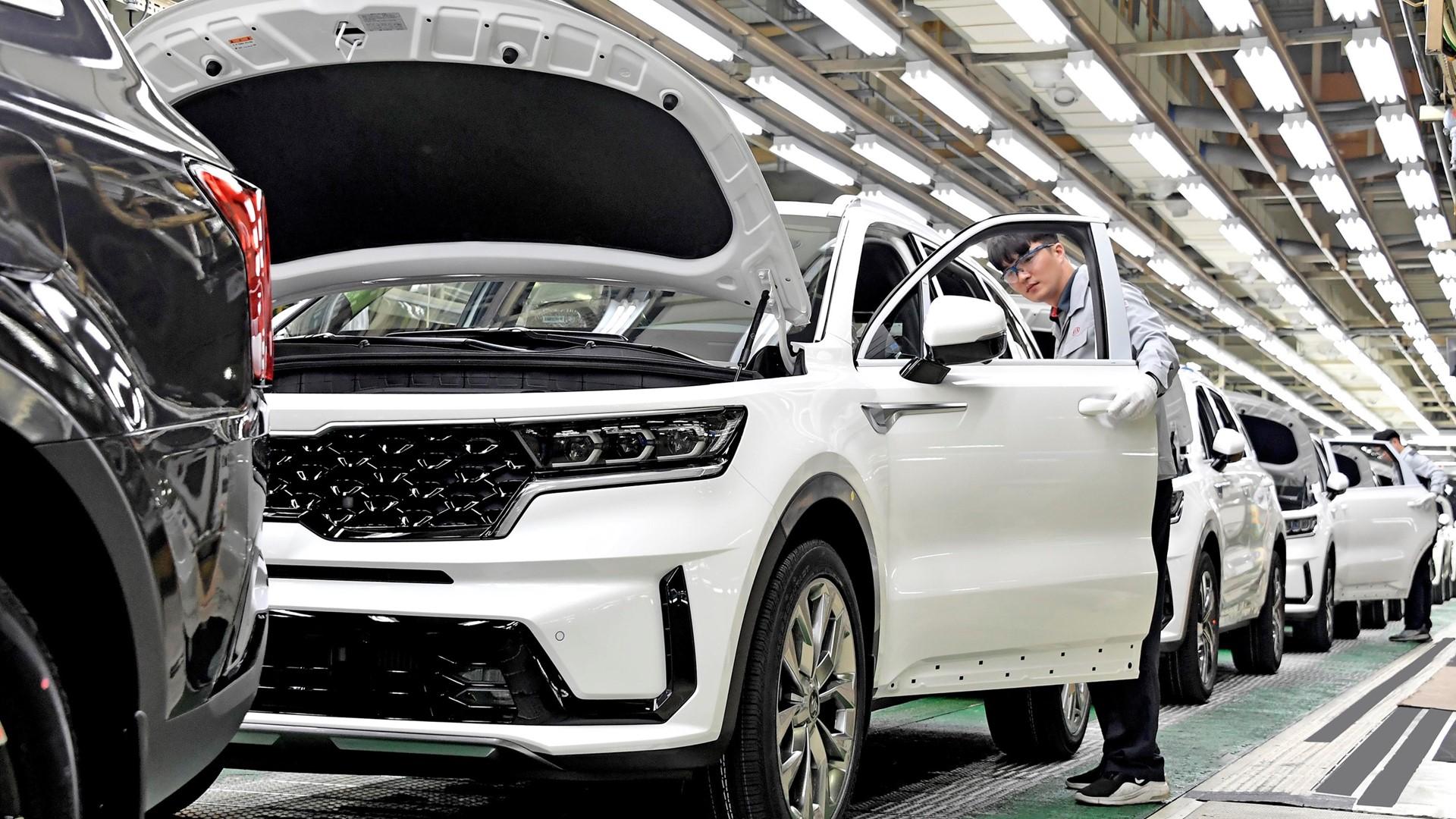 Start of production for new Kia Sorento Hybrid - Image 5