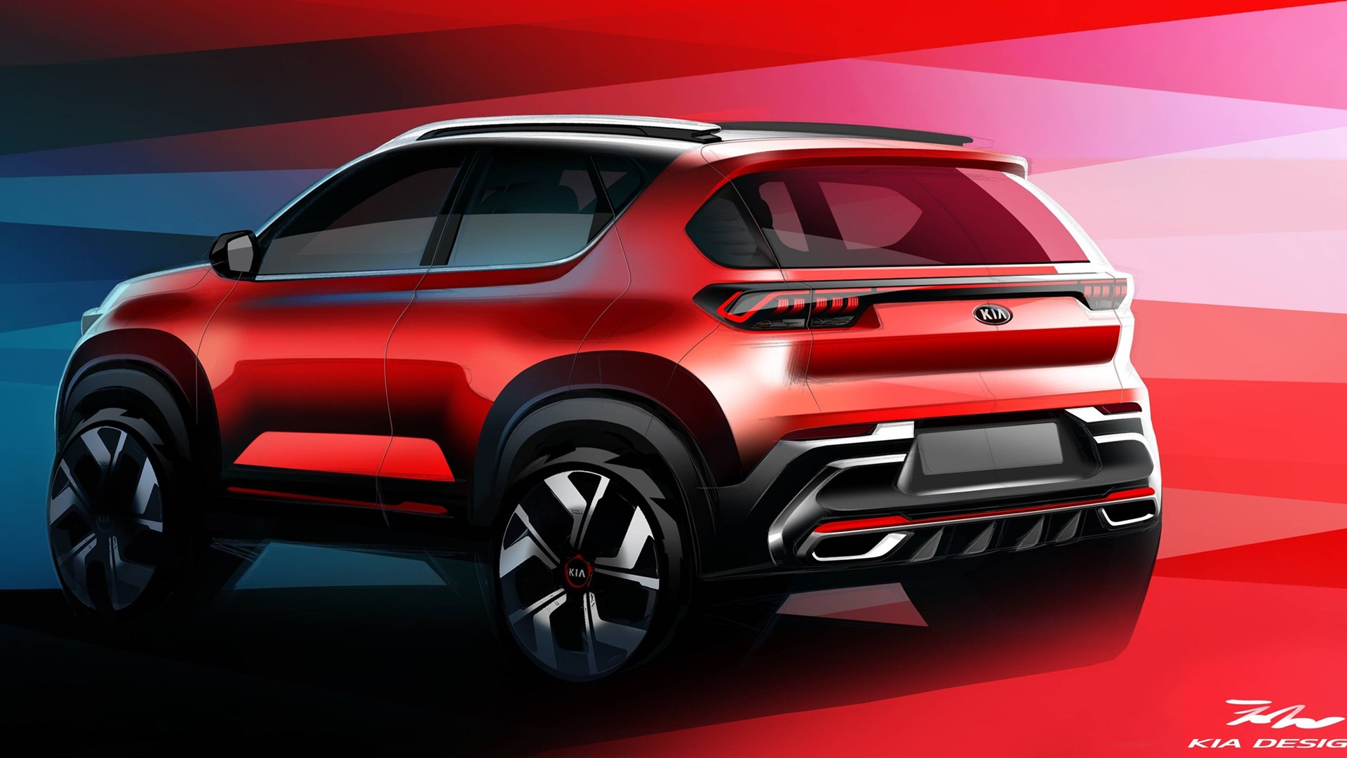 Kia Motors India releases official images of all-new Kia Sonet - Image 3