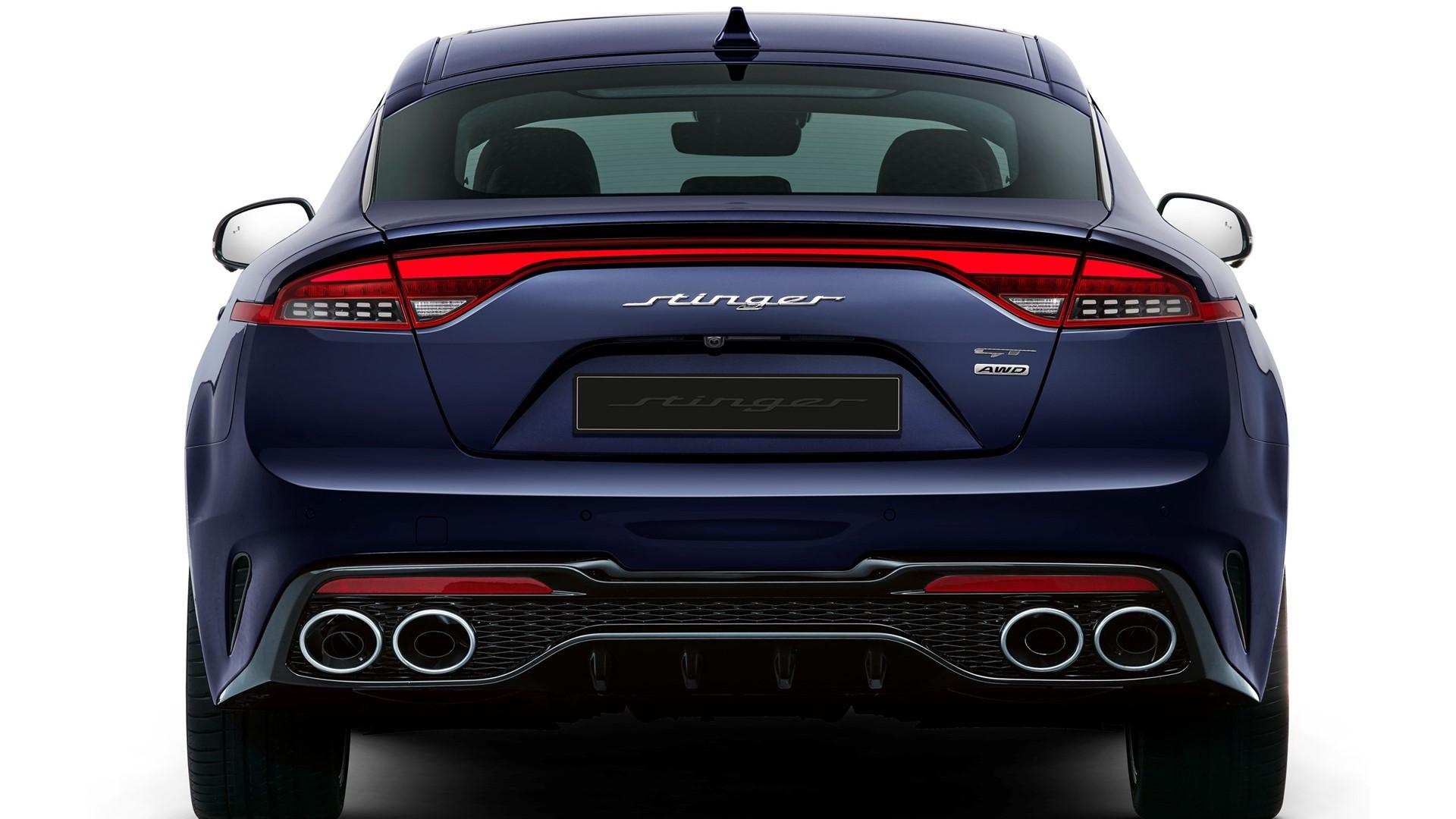 Kia reveals new design for fastback Stinger - Image 2
