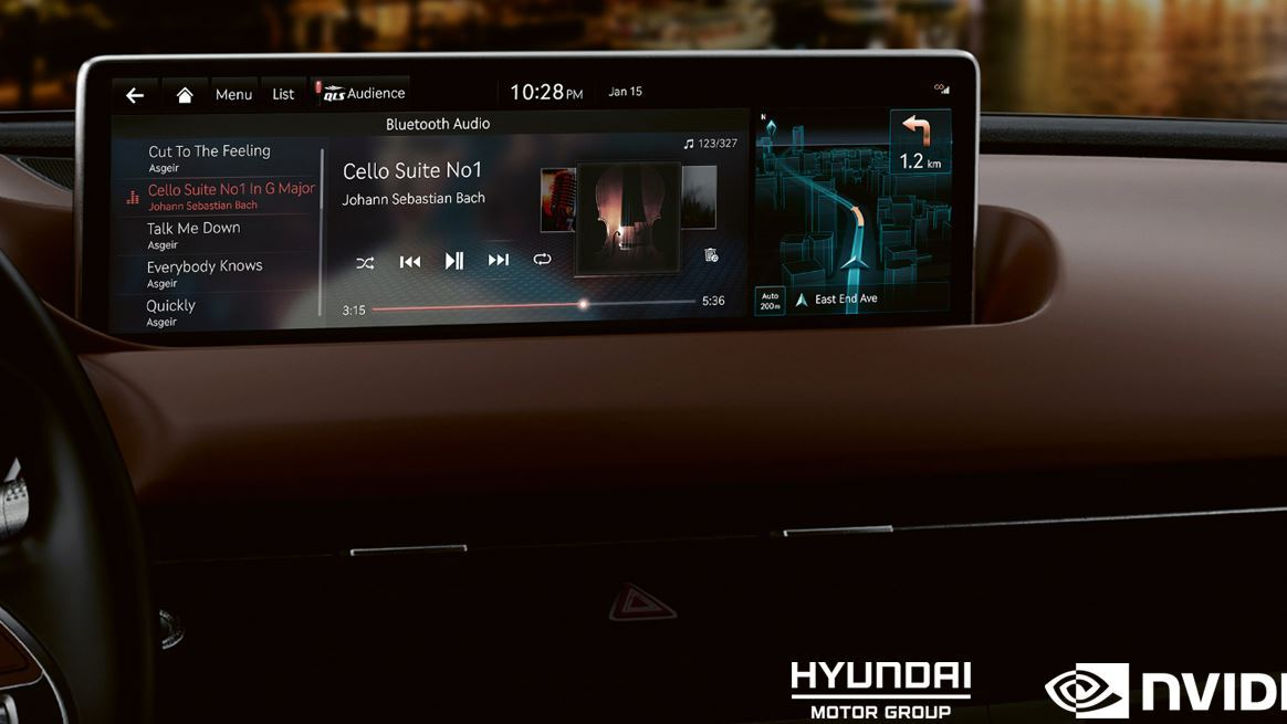 Hyundai Motor Group to launch NVIDIA DRIVE 'connected car' infotainment and AI platform across all future Hyundai, Kia and Genesis models - Image 1