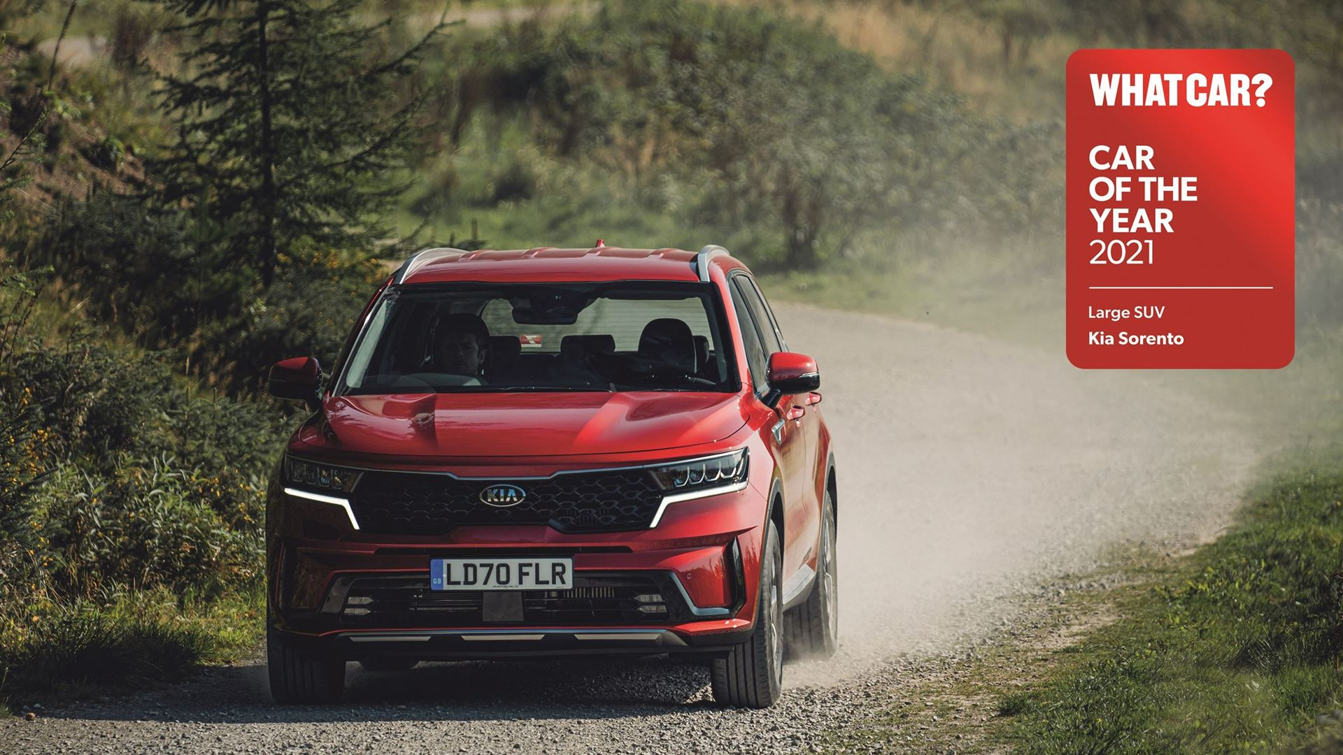 All-new Sorento wins 'Large SUV of the year' at 2021 What Car? Car Of The Year awards - Image 6