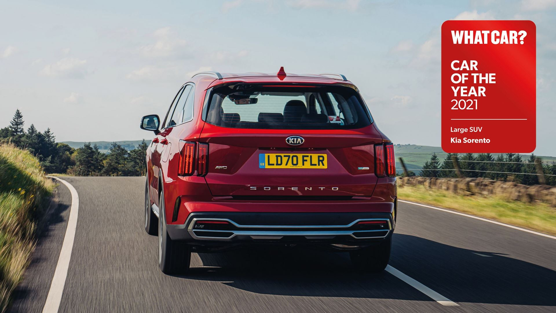 All-new Sorento wins 'Large SUV of the year' at 2021 What Car? Car Of The Year awards - Image 7